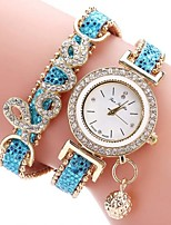 Women's Kid's Fashion Watch Bracelet Watch Casual Watch Chinese Quartz Chronograph Water Resistant / Water Proof PU Band Sparkle Unique
