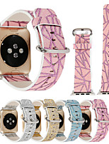 cheap -Watch Band for Apple Watch Series 3 / 2 / 1 Apple Wrist Strap Classic Buckle PU