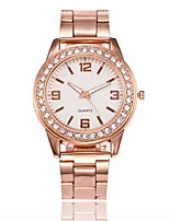 Men's Women's Dress Watch Fashion Watch Wrist watch Unique Creative Watch Chinese Quartz Alloy Band Casual Silver Gold Rose Gold