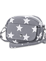 Women Bags All Seasons Canvas Wristlet for Shopping Casual Blue Black Red Dark Blue Gray