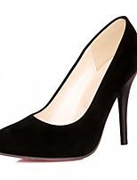 Femme Chaussures Similicuir Polyuréthane Printemps Automne Confort Nouveauté Chaussures à Talons Talon Aiguille Bout pointu Points Polka