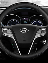 Automotive Steering Wheel Covers(Leather)For Hyundai All years Verna Elantra