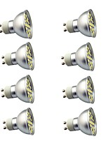 8 pcs 3W GU10 LED Spotlight 29 leds SMD 5050 Decorative Warm White Cold White 350lm 3000-7000K AC220V