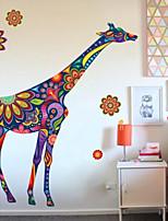 Animales Pegatinas de pared Calcomanías de Aviones para Pared Calcomanías Decorativas de Pared Material Decoración hogareña Vinilos