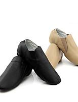 Men's Jazz Cowhide Heel Training Low Heel Black Brown Under 1