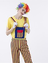 Fairytale Burlesque/Clown Cosplay Costumes Adults' Halloween Festival/Holiday Halloween Costumes Fashion Vintage