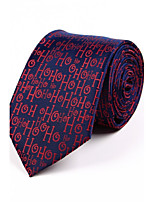 Men's Polyester Neck Tie,Irregular Style Jacquard All Seasons