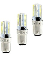 BRELONG 4W G9 LED Corn Lights 80SMD 3014 360lm Warm White White 3000-3500/6000-6500K Dimmable AC110/220V 3pcs