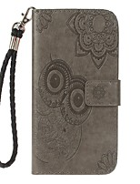Case For Samsung Galaxy Note 8 Holder Wallet with Stand Flip Embossed Pattern Full Body Case Owl Hard PU Leather