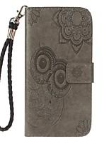 Fall für Samsung Galaxy Note 8 Halter Brieftasche mit Stand-Flip geprägt Muster voller Körper Fall Eule harte PU-Leder