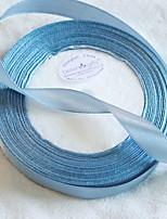 Width 1.2cm Length 22m - Silver Satin Ribbon Beter Gifts® DIY Door Gifts Packaging Materials