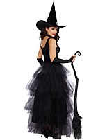 Wizard/Witch Cosplay Costumes Adults' Halloween Festival/Holiday Halloween Costumes Fashion Vintage