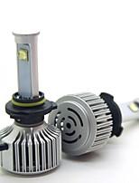 joyshine x7-9005 h10 hb3 светодиодная лампа накаливания ультра яркая дуговая пучка 80w 7200lm 6000k (2шт)