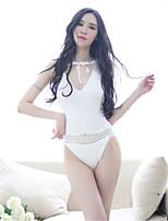 Ultra Sexy Body Costumes Vêtement de nuit Femme,Sexy Dentelle Solide Spandex