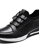 Da uomo Scarpe PU (Poliuretano) Autunno Inverno Comoda Sneakers Lacci Per Casual Nero Argento Blu