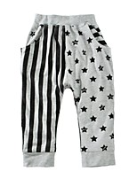 Boys' Geometic Pants-Cotton Spring Fall