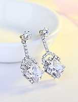 Women's Drop Earrings AAA Cubic Zirconia Classic Elegant Cubic Zirconia Drop Jewelry For Wedding Evening Party