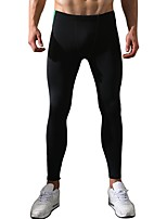 Men's Running Pants Breathable Comfortable Pants / Trousers for Running/Jogging Exercise & Fitness Polyester Tight Black Blue M L XL XXL