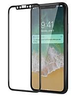 Vetro temperato Proteggi Schermo per Apple iPhone X Proteggi-schermo frontale Alta definizione (HD) Durezza 9H Estremità angolare a 3D