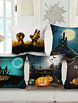 1 pcs Linen Others Other,Print Halloween