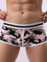 Men's Sexy Print Print Briefs  Underwear,Cotton