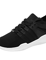Men's Shoes PU Spring Fall Comfort Sneakers Lace-up For Casual Red Gray Black