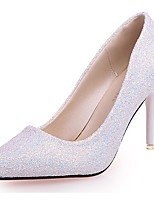 Women's Shoes Paillette Fall Basic Pump Heels Stiletto Heel Pointed Toe Sequin For Casual Blushing Pink Purple Black White