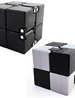 2pc fidget infinity cube finger hånd top uendelig kvadrat magisk terning edc tilføje adhd anti angst stress reliever