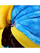Hund Mäntel Hundekleidung warm halten Buchstabe & Nummer Gelb Rot Blau