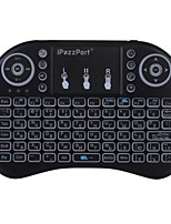 ipazzport mini keyboard KP-810-21DL Air Mouse Sans fil 2,4 GHz