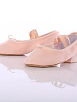 Women's Jazz Canvas Sneaker Indoor Customized Heel Blushing Pink Customizable