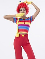Fairytale Burlesque/Clown Cosplay Costumes Adults' Halloween Festival/Holiday Halloween Costumes Vintage