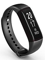 hhy nuova l55 intelligenti braccialetti pressione sanguigna della frequenza cardiaca monitoraggio sonno monitoraggio di chiamata di