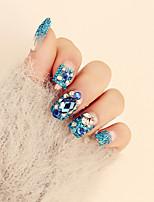 Punte per unghie  chiodi falsi Fantasie design per manicure  Cosmetici e trucchi