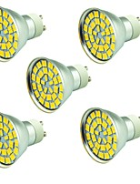 5W LED Spotlight 55 SMD 5730 800 lm Warm White Cold White 3000-7000 K Decorative AC 12 V 5 pcs