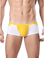 Men's Sexy Patchwork Briefs  Underwear,Cotton Polyester