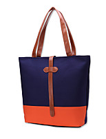 Women Bags All Seasons Canvas Tote Ruffles for Casual Office & Career Black Dark Blue Gray
