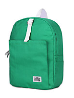 Women Bags All Seasons Canvas Backpack for Casual Outdoor Blue Green Black Red Blushing Pink