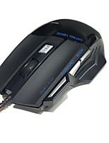 usb verdrahtet Gaming Maus 3200 dpi optische LED 7 Taste usb verdrahtet Gaming Maus für PC Spiel
