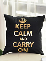 1 pcs Cotton Pillow Cover,printing Letter & Number Patterned Fashion