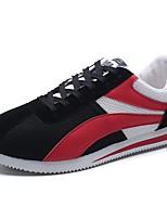 Da uomo Scarpe Tulle Primavera Estate Comoda Sneakers Lacci Per Casual Nero Grigio Blu