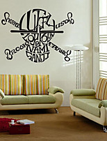 Fantasy Wall Stickers Plane Wall Stickers Decorative Wall Stickers,Plastic Material Home Decoration Wall Decal