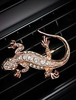 автомобильная воздухозаборная решетка духи натуральный алмаз позолоченный индивидуальный творческий автомобильный очиститель воздуха