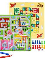 Soulage le Stress Jeu d'échecs Balles Jouet Educatif Labyrinthes & Puzzles Labyrinthe Jouets Rond Rectangulaire Unisexe 1 Pièces