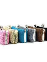 Women Bags All Seasons Cotton Shoulder Bag Lace for Shopping Formal Black Blushing Pink Gray Coffee Sky Blue