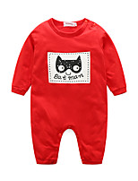 Baby Animal One-Pieces,100%Cotton Autumn/Fall Long Sleeve