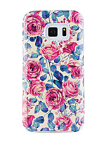 For Case Cover Pattern Back Cover Case Flower Soft TPU for Samsung Galaxy S8 Plus S8 S7 edge S7 S6 edge plus S6 edge S6 S6 Active S5