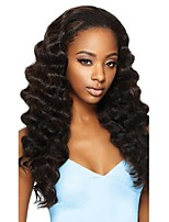 Women Human Hair Lace Wig Glueless Lace Front 180% 150% Density With Baby Hair Body Wave Wigs Brazilian Hair Dark Brown Black Medium Long