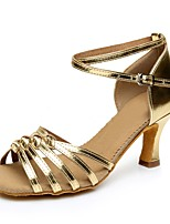 Da donna Pelle OVC Tacchi Professionale Tacco alto Oro Argento