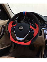 Automotive Steering Wheel Covers(Leather)For BMW All years 3 Series 5 Series 320I Civic X5 X6 X4 X3